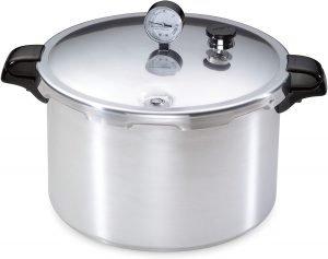 Presto 01755 16 Quart Aluminum Canner Pressure Canner