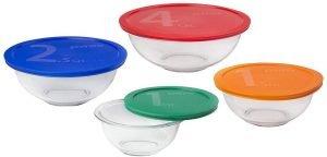 Pyrex Essentials Mixing Bowl Set