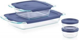 Pyrex Grab Glass Bakeware And Food Storage
