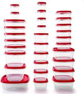 Rubbermaid Easy Find Food Storage Containers