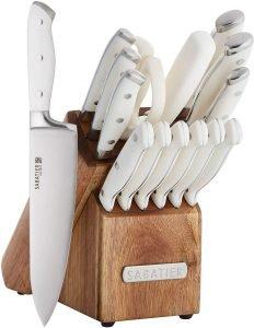 Sabatier Forged Triple Rivet Knife Block Set