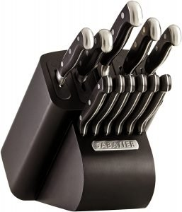 Sabatier Self Sharpening Edgekeeper Pro Knife Block Set