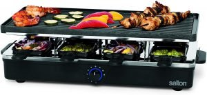 Salton Raclette Indoor Party Grill And Raclette