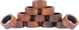 Shalinindia Artisan Crafted Napkin Rings