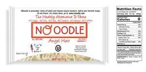 Shirataki Noodles No Carb, Zero Calories Pasta
