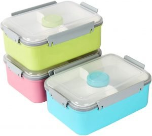 Shopwithgreen Set Of 3 Salad Food Storage Container To Go