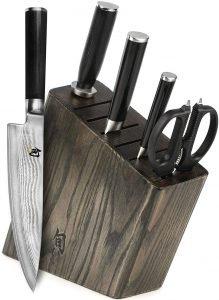 Shun Classic 6 Piece Japanese Knife Set