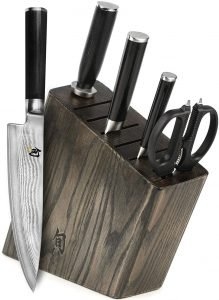 Shun Classic 6 Piece Slim Knife Block Set