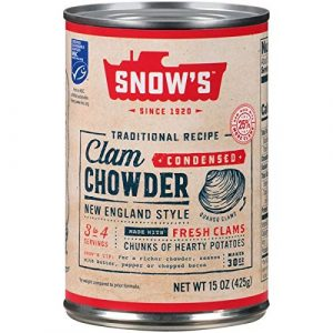 Snows Chowder Clam New England Soup