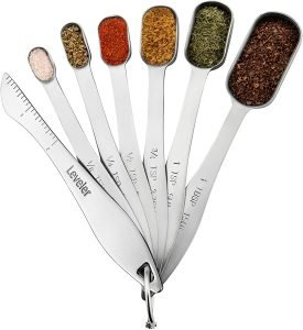 Spring Chef Stainless Steel Measuring Spoon Set