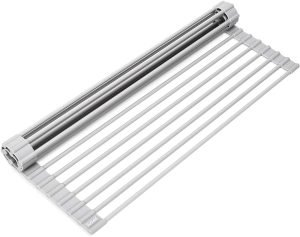 Surpahs Over The Sink Multipurpose Roll Up Dish Drying Rack