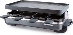 Swissmar Classic 8 Person Anthracite Raclette Grill