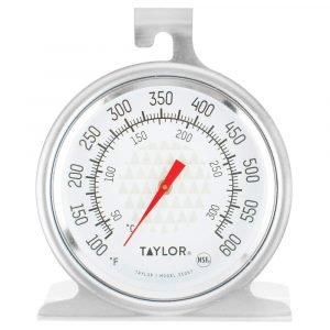 Taylor 3506 Trutemp Series Oven Grill Analog Dial Thermometer