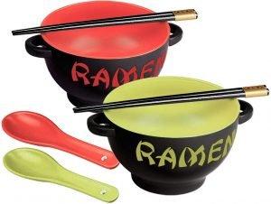 Toysdone Japanese Ceramic Ramen Bowl