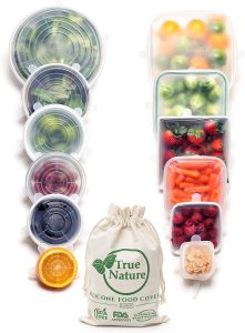 True Nature Silicone Stretch Food Covers