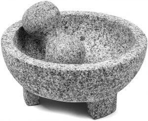 Umien Granite 8 Inch Molcajete