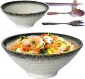 Vallenwood Premium Ceramic Large Ramen Bowl