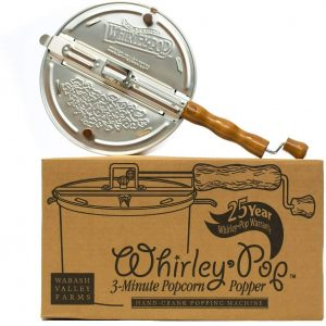 Wabash Valley Farms Whirley Pop Stovetop Popper