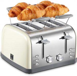 Yabano's Multifunctional 4 Slice Toaster