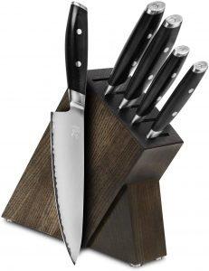 Yaxell Mon 6 Piece Japanese Knife Set