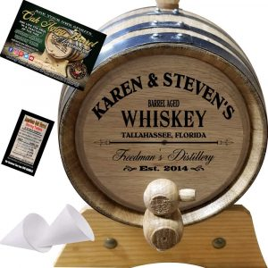 American Oak Barrel Personalized Aging Barrel