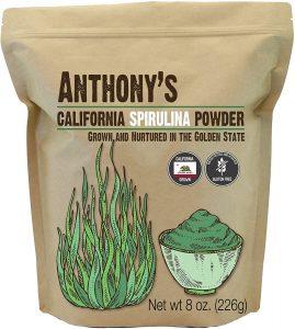 Anthony's California Spirulina Powder