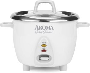 Aroma Housewares Stainless Rice Cooker