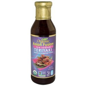 Asian Fusion Organic Low Sodium Teriyaki Sauce