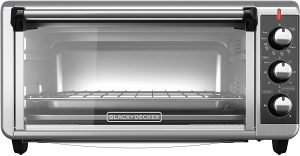 Black+decker To3250xsb 8 Slice Extra Wide Convection Oven