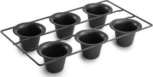Bellemain Six Cup Non Stick Popover Pan