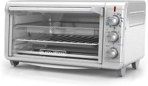 Black+decker To3265xssd Bake Air Fry Toaster Oven