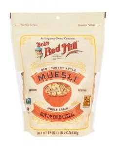 Bob's Red Mill Re Sealable Old Country Style Muesli Vegan Cereal