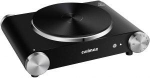 Cusimax Electric Countertop Burner