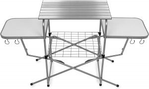 Camco Deluxe Grill Table