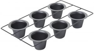 Chicago Metallic Professional Six Cup Popover Pan