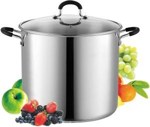 Cook N Home Stainless Steel Stockpot