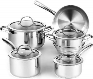 Cooks Standard Classic Stainless Steel Cookware Set