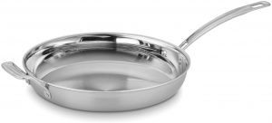 Cuisinart Multiclad 12 Inch Pro Stainless Skillet