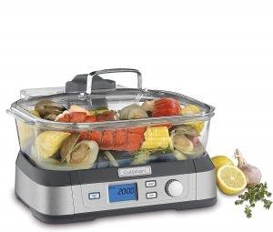 Cuisinart Stm 1000 Digital Glass Vegetable Steamer