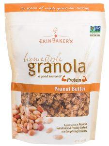 Erin Baker's Homestyle Granola Peanut Butter Vegan Cereal