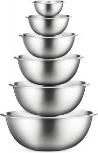 Finedine Stainless Steel Mixing Bowls Set