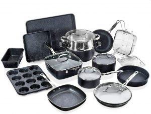 Granitestone Cookware 20 Piece Bakeware Set