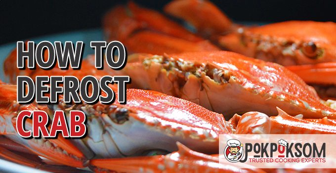 How To Defrost Crab