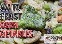 How to Defrost Frozen Vegetables?