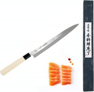Japanbargain 1560 Japanese High Carbon Stainless Steel Sushi Knife