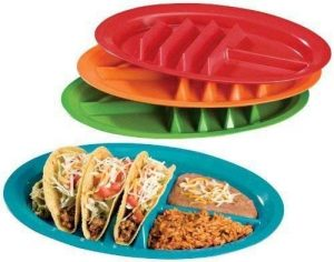 Jarratt Industries Fiesta Plate Taco Holder