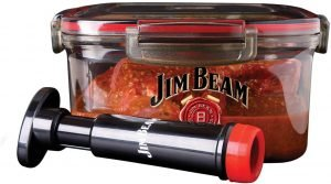 Jim Beam Vacuum Pump And Marinade Box