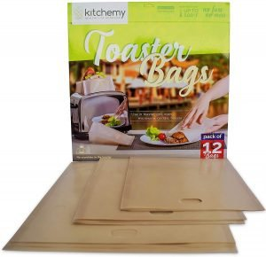 Kitchemy 12 Toaster Bags
