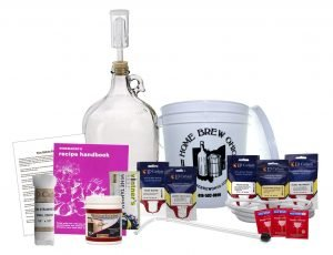 Midwest Homebrewing One Gallon Wine From Fruit Kit