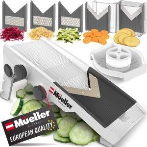 Mueller Austria Multi Blade Adjustable Vegetable Chopper